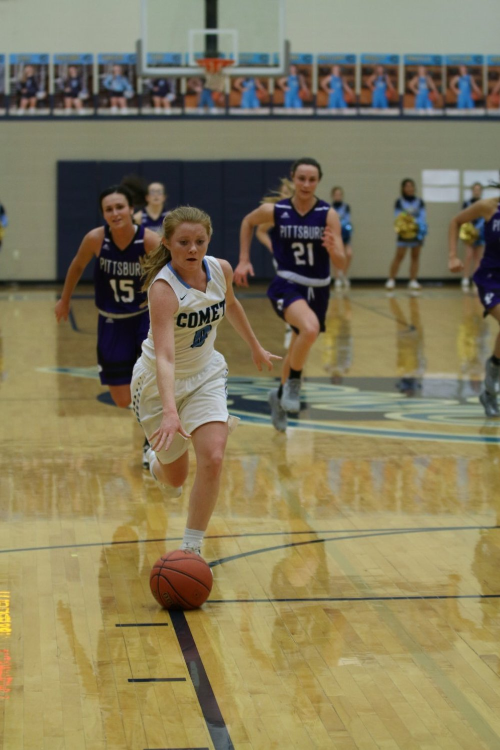 Girls Basketball vs Pittsburg