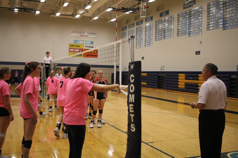 Varsity Volleyball 16