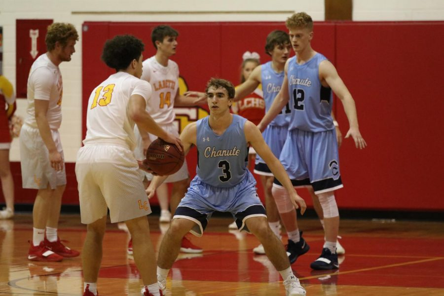 Boys Basketball at Labette County