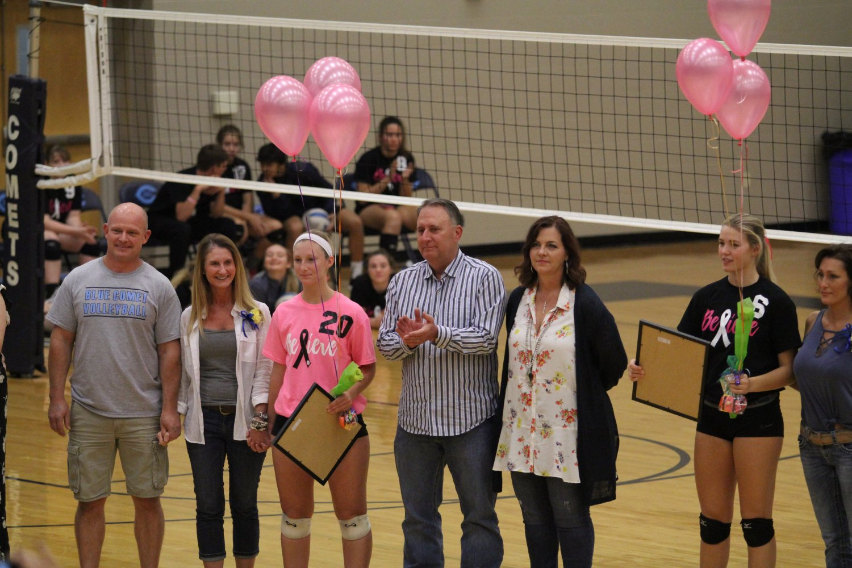 Senior Night Volleyball 1